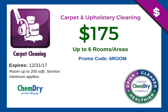 Carpet Cleaning Specials Chem Dry Of Fort Wayne